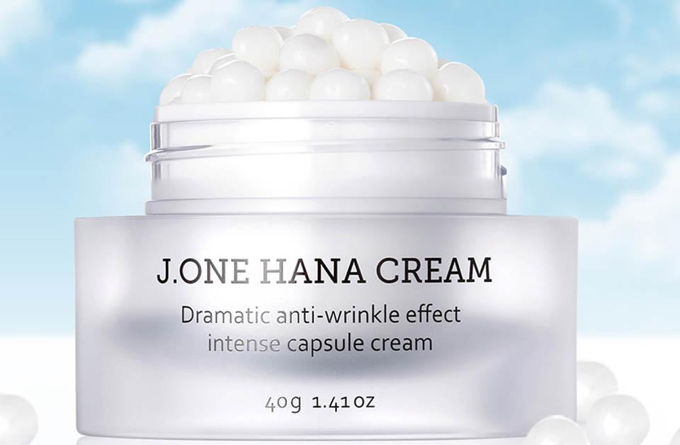 کپسول های ضد چین و چروک J.ONE Hana Cream